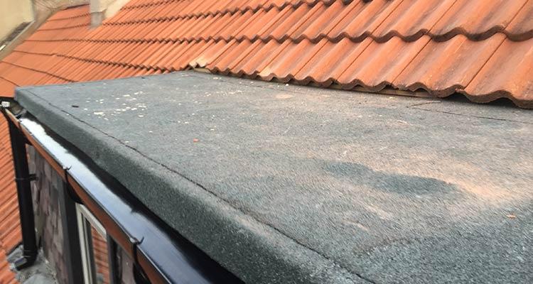 Bitumen Felt Flat Roofing After 4