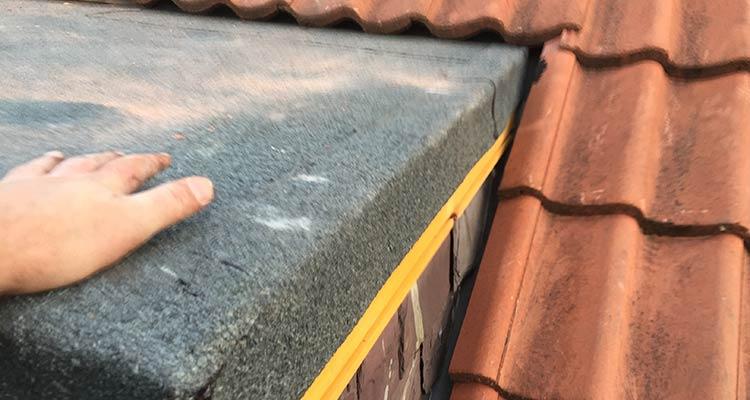 Bitumen Felt Flat Roofing After