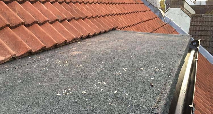 Bitumen Felt Flat Roofing After2
