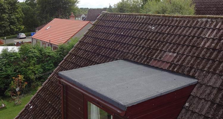 Bitumen Felt Flat Roofing After3