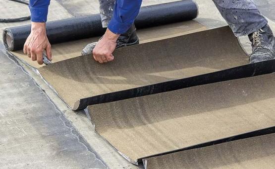 Bitumen felt flat roofing in Scotland