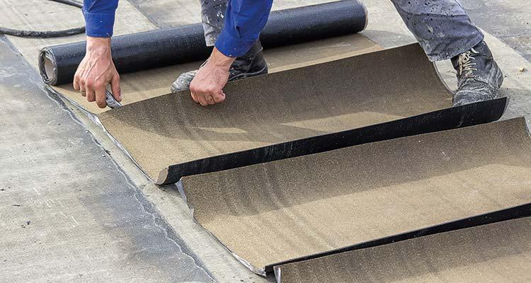 Bitumen Felt Flat Roofing