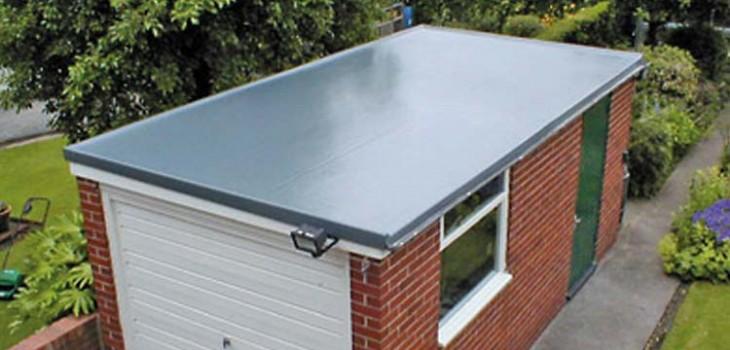 Fibreglass roofing in Scotland