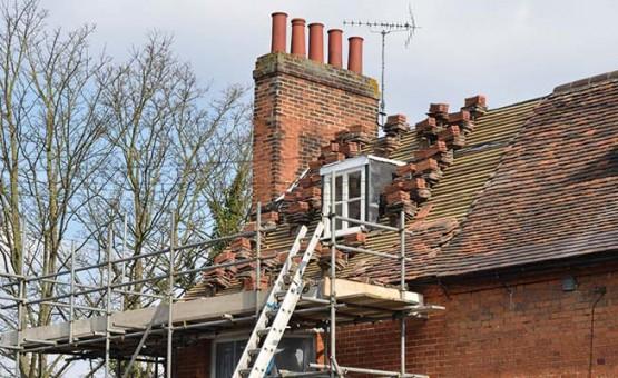 Roof repairs in Scotland